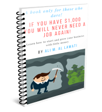 If You Have $1,000 You'll Never Need a Job Again!